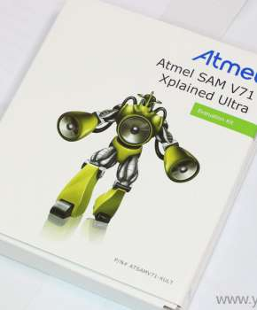 Atmel SAM V71 Xplained Ultra评估套件精美大图
