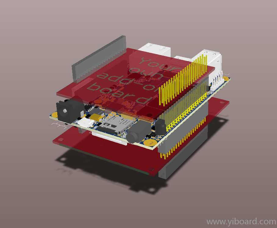 OpenRex-V1I1-3D-Model-with-add-on-boards-Default-view.png